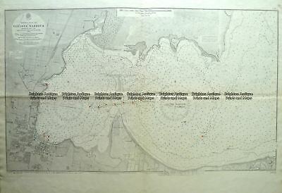 Antique Map 4-970  Geelong Harbour Navigation Chart c.1934 Victoria