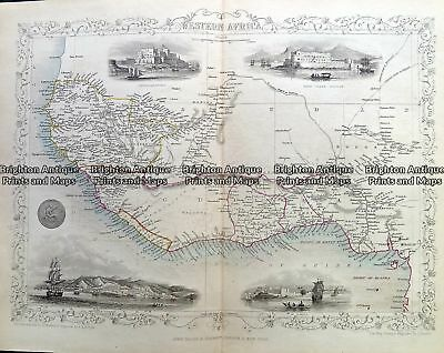 Antique Map Please contact us for other maps of Africa. Western Africa