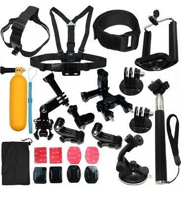Accessories Kit Mount for Gopro go pro hero Session SJCAM/Xiaomi yi 5 4 3 EKEN