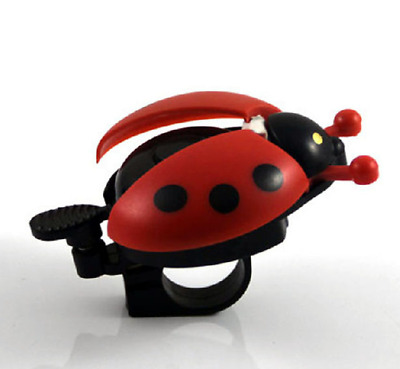 Ladybug Bike Bicycle Cycling Handlebar Ring Sound Horn Bell Alarm XIUS