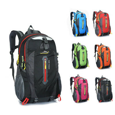40L Outdoor Hiking Camping Waterproof Polyester Travel Luggage Rucksack Backpack