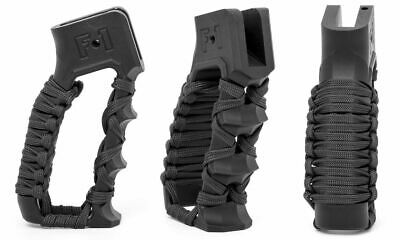 F-1 Firearms Skeletonized Grip Style 2 With Finger Grooves And : GRP-ST2-PC