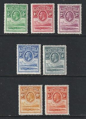 GEOV BASUTOLAND 33 set to 1/- fresh lmm cat £14 v fine