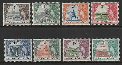 QEII BASUTOLAND 54 set  to 1/3 fresh vlmm cat £35+