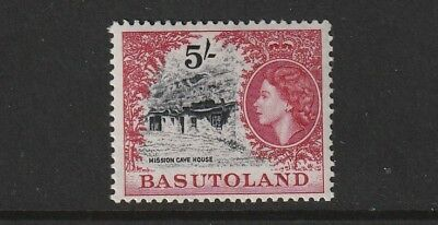 QEII BASUTOLAND 54 5/- fresh vlmm cat £15