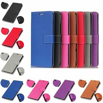 Magnetic Card Leather Slim Flip Stand Case Cover For HTC 12 Nokia 2 3 5 6 7 TU