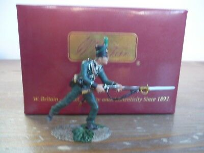 Britains Napoleonic British 95Th Rifles Charging  Ref 50024C