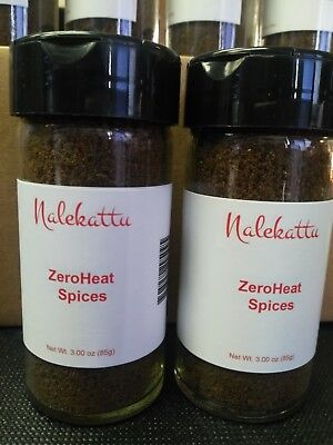 ZeroHeat Spices, Super Star of Culinary Spice World make YOU the Celebrity Chef