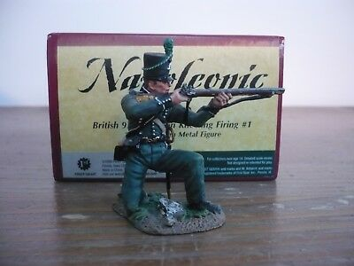 Britains Napoleonic British 95Th Rifles Kneeling Firing  Ref 36039