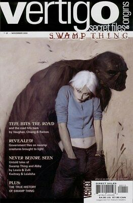 Vertigo Secret Files & Origins - Swamp Thing (2000) One-Shot