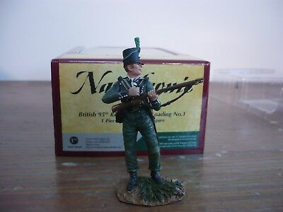 Britains Napoleonic British 95Th Rifles Standing Loading No1  Ref 36047