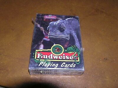 Budweiser Swamp Lizard Playing Cards NEW