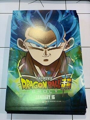 Dragon Ball Super Broly mini poster 1 day special edition !!!