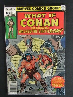 What If? #13 (1978) Conan Marvel Bronze Age VF/NM 9.0 C550