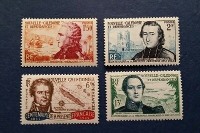 New Caledonia Stamps, Scott 296-299 Complete set MLH