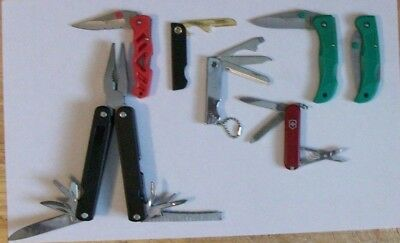 Assorted Knife & More Lot ~ Lot Of 7 ~ Great Collection