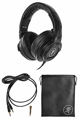 Mackie MC-250 Closed-Back Studio Monitoring Reference Headphones w/50mm Drivers