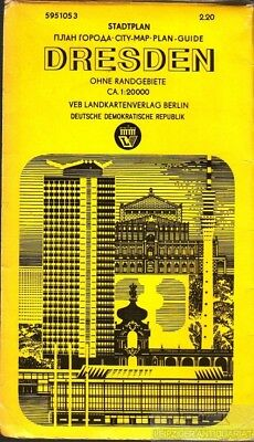 Stadtplan Dresden (Plan Goroda - City-Map, Plan -Guide)