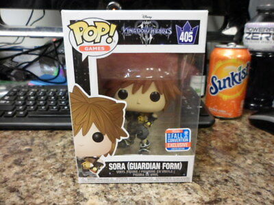 Box Damage Funko Pop Kingdom Hearts Sora Guardian Form 405 2018 Fall Convention