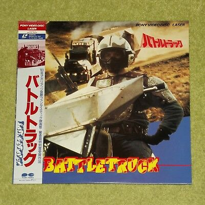 BATTLETRUCK [Warlords Of The 21st Century] - RARE 1986 JAPAN LASERDISC + OBI