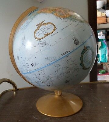 "REPLOGLE 12"" Diameter Globe World Class Series Vintage"