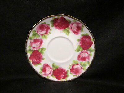Royal Albert - OLD ENGLISH ROSE - Cream Soup Stand Only