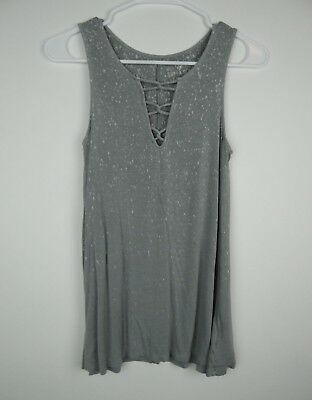 eb39a66dc62f3 AMERICAN EAGLE WOMENS Soft   Sexy Gray Tank Top Size XS (Pre-Owned ...