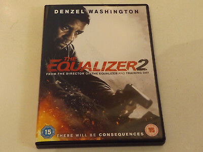 """""""the Equalizer 2"""",dvd,region 2 Version,viewed Once,plays Perfect,great Extras."""