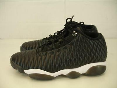 half off 91d92 4a6b6 Mens 8 Nike Air Jordan Horizon Low Premium Black Gym Red White 850678-002  Shoes