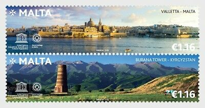 Malta - Kyrgyzstan Joint Stamp Issue - Set mnh