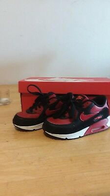 Nike Air Max 90 LTR Youth US Size 13c Gym Red