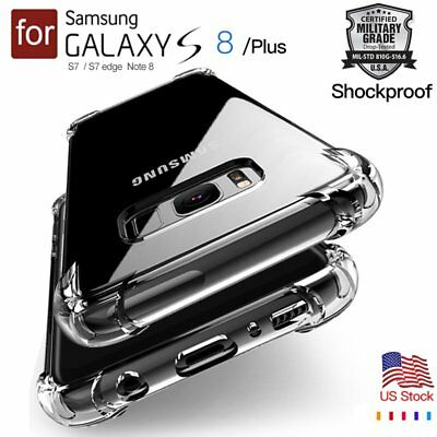 Shockproof Clear Cover For Samsung Galaxy S8 Plus Case S9 Plus Silicone Note 8