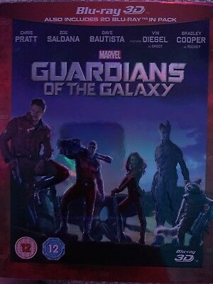 Guardians of the Galaxy (3D Edition with 2D Edition) [Blu-ray]