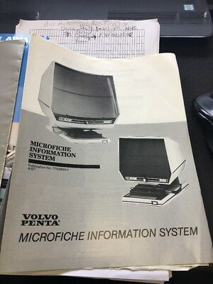 Microfiche Machines Bell & Howell Booklets Paperwork