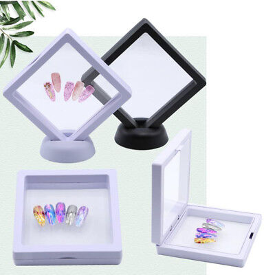 Nail Art Nail Sample Show Holder Stand / False Tips Display Training Tool #B