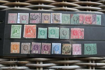 NIGERIA - Useful stamp collection on stockpages EDVII onwards Mint and Used