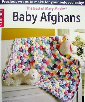 CROCHET BABY Afghans Best Of Mary Maxim Patterns Leisure Arts