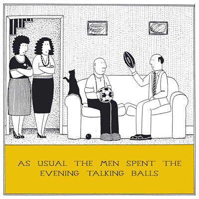 Train Spotting Funny Fred Birthday Card Rupert Fawcett Humour Greeting Cards