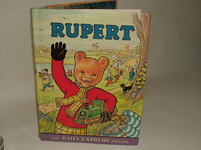 Rupert Bear Daily Express Annual 1976 Not Price Clipped Good Condition*