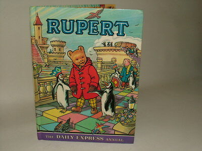 Rupert Bear Daily Express Annual 1977 Not Price Clipped Good Condition*