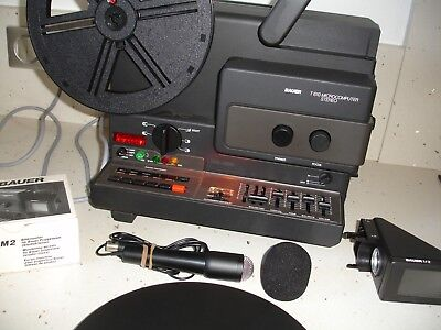 Projecteur BAUER T610 Microcomputer Super 8 Sonore  Stereo