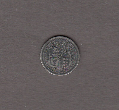 1816 Great Britain George III. Silver Six Pence (6 Pence) Coin ~ Fine Condition!