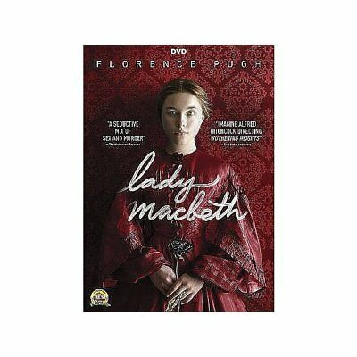 Lady Macbeth,Excellent DVD, Cosmo Jarvis, Paul Hilton, Naomi Ackie, Christopher