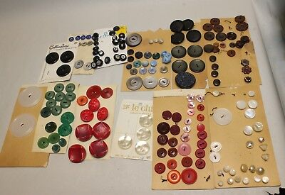 Antique Vintage Mix of Sewing Buttons