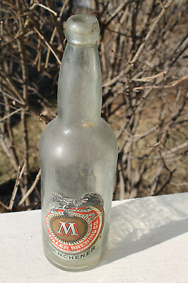 Vintage 1899 Miler Beer Bottle & Label Pre-Prohibition Brewery Wisconsin WI Brew
