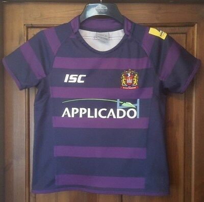 ISC Wigan Warriors Away 2013 Shirt size on tag 12 years approx 32 inch chest