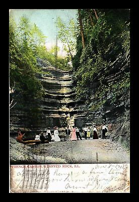 Dr Jim Stamps Us French Canyon Starved Rock Illinois View Postcard