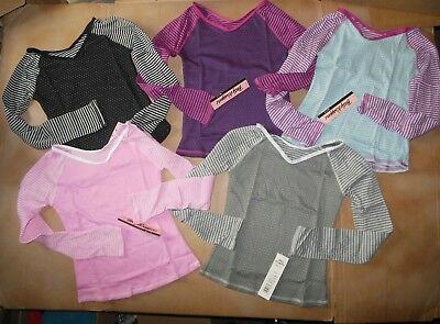 NWT Body Wrappers Dance Thermal Supersoft Longsleeve Pullover Dance coverup GIRL