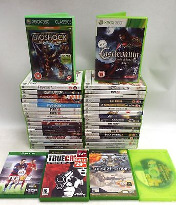 Collection Of 40 Xbox 360/Original Xbox And Xbox One Games/Good Condition - N29