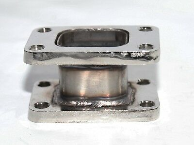 SS Turbo Charger Turbo Manifold Flange T3 to T3 Adapter Conversion